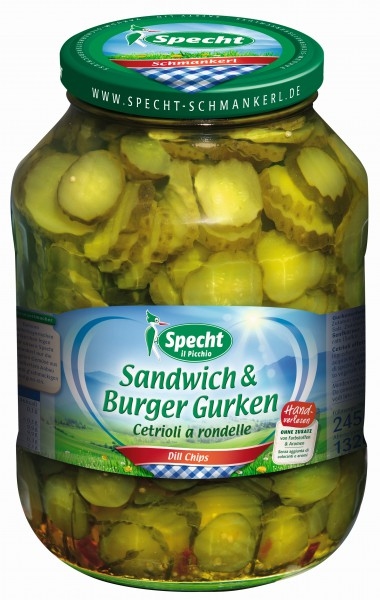 Sandwich & Burger Gurken 2650 ml Glas