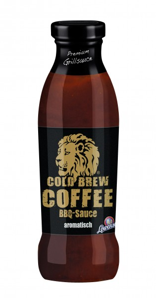 Löwensenf Cold Brew Coffee BBQ Sauce 230 ML Glasflasche