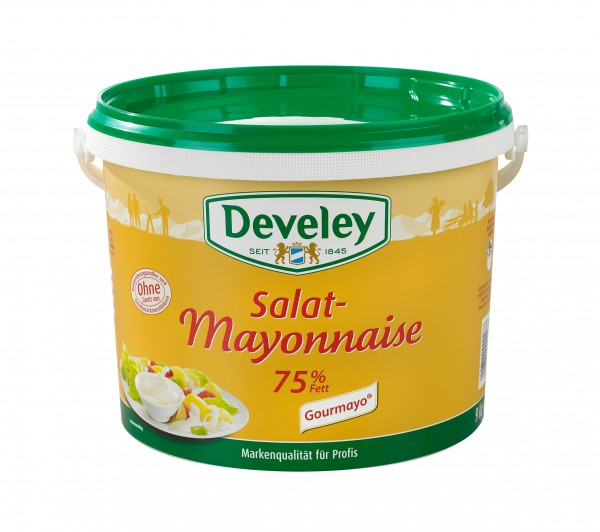 Develey Salat Mayonnaise 75 % 9 kg Eimer