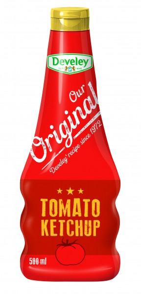 Develey Our Original Tomato Ketchup 500ml PF