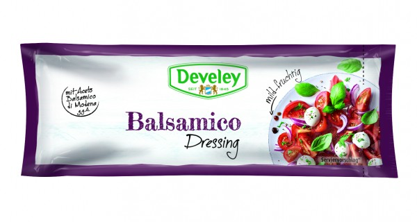Develey Balsamico Dressing 25 ML Portionsbeutel